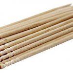 100% tout Naturel en bois rond cure-dents Bois cure-dents 6,6cm Longueur 1Lot de 500CT de la marque Antetok image 1 produit