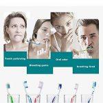 2têtes de brosse avec une brosse à dents électrique rechargeable de la marque BestYT image 4 produit