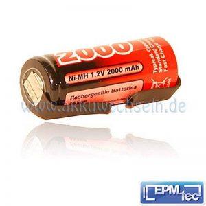 2000/2400/2800/3000mAh NiMH Batterie de rechange pour tous les modèles OralB Triumph 450500550400050005500650060006500700080008300850089009000940095009900–Batterie Batterie Replacement Service de la marque akkuwechseln.de image 0 produit