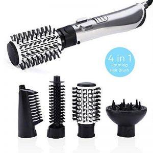 4 en 1 Automatique Ionique Brosse à Cheveux Redresseur de Cheveux Peigne Sèche-cheveux 1000-1250W de la marque Brino image 0 produit