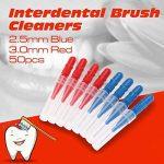 50pcs Dentaire Orthodontique Soins Oraux Brosse Interdentaire Cure-Dents Entre Les Dents Brosse Kit de la marque ULTNICE image 2 produit