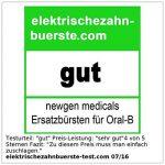 8 têtes de rechange pour brosse à dent électrique Oral-B® ** de la marque Newgen Medicals image 2 produit