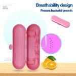 Airven Portable Boîte de brosse à dents électrique de voyage Safe Coque pour Oral-B Phillips et 5600Rose de la marque Airven image 3 produit