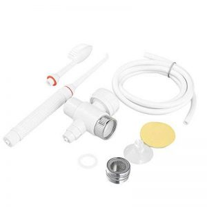 Anself 1 Set Hydropulseur Jet Dentaire Sans Fil Portable avec la Tête de Brosse à Dents Mobile de la marque Anself image 0 produit