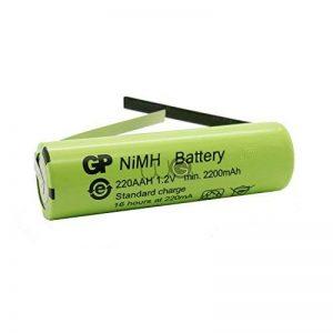 Batterie de remplacement GP Batteries par WorldGen 2200mAh 1.2V 49x14mm pour brosse à dents électrique Braun Oral B type 3754 3756 3709 3737 Professional Care TriZone Vitality Vitality Sonic (liste en description) de la marque GP Batteries image 0 produit