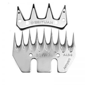 BODFEISI Lame De Clipper Électrique, Les Objectifs Replaçables sont Droit/Bend Tooth Carbonized Steel Blade Ne S'interrompra Pas,9Straight de la marque BODFEISI image 0 produit