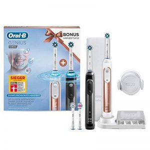 Braun Oral-B 10900 Brosse à dents électrique avec fonction de protection des gencives et poignée Bonus Rose/doré et noir de la marque Oral-B image 0 produit