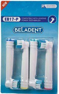 Braun Oral B Lot de 16 brossettes de rechange compatibles avec les brosses à dents Braun 4 x 4 de la marque BELADENT image 0 produit