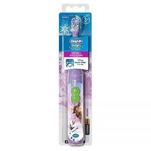 Braun Oral-B Stages Power Kids Brosse à dent à pile enfants 3ans et + Disney Frozen La Reine des Neiges + Magic Minuteur de la marque Oral-B image 0 produit