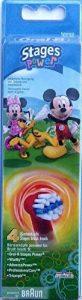 Braun Oral-B Stages Power Kids EB10-4K Lot de 4 têtes de brosse à dents électrique pour enfants Mickey Mouse de la marque Oral-B image 0 produit