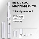 Brosse à dents sonique USB de voyage avec capuchon SZB-281 de la marque Newgen Medicals image 1 produit