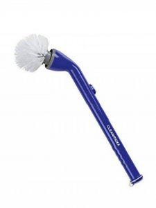 Brosse de nettoyage | électrique | accumulateur | parfait pour la salle de bain, gratter, méchante, tête de brosse rotative | 3,7 V de la marque CleanMaxx image 0 produit