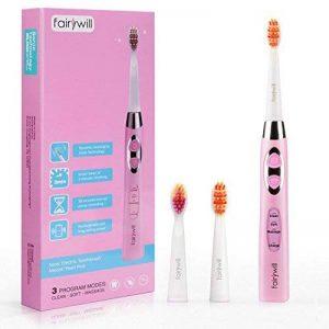 brosse à dent électrique rose TOP 9 image 0 produit