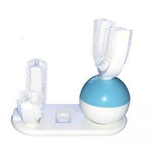 Brosse à dents électrique automatique ultrasonique U-Shape Rechargeable Dents blanchissant les adultes 360 degrés propre de la marque Ilucky image 0 produit