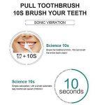 Brosse à dents électrique automatique ultrasonique U-Shape Rechargeable Dents blanchissant les adultes 360 degrés propre de la marque Ilucky image 3 produit