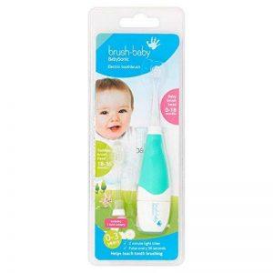 Brosse à dents électrique Brush Baby Baby Sonic - Coloris aléatoire de la marque Brush baby image 0 produit