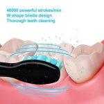 Brosse à dents électrique Fairywill FW-507 CrystalBlack Rechargeable avec Trousse de voyage. de la marque Fairywill image 3 produit