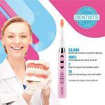 Brosse à dents électrique Fairywill FW-917 PearlPink Rechargeable Sonique Brosse a Dents Electrique Avec USB charge 4 heures garder min 30 jours. de la marque Fairywill image 1 produit