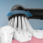 Brosse à dents électrique Fairywill Fw2205, dents propres en tant que dentiste, brosse à dents rechargeable rotative avec 2 têtes de rechange de la marque Fairywill image 4 produit