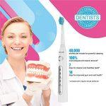 Brosse à Dents Électrique Fairywill Fw507 CrystalWhite Rechargeable,brosse à dents sonic,blanc de la marque Fairywill image 1 produit