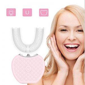 Brosse à dents électrique à fréquence variable entièrement automatique 360 ° Dents à brosse à dents électrique à ultrasons électrique Brosse à dents automatique à lumière froide de la marque supertop image 0 produit