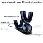 Brosse à dents électrique,Kinut brosses à dents électriques à ultrasons sonique rechargeable nouvelle automatique(A01) de la marque Kinut image 4 produit