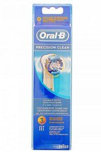 BROSSETTE DE RECHANGE ORAL-B PRECISION CLEAN x 3 de la marque Oral-B image 0 produit