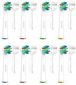 Brossettes Têtes de Remplacement Brosses à Dent Electrique pour Braun Oral B FlossAction & Oralb Professional Care -8 Pack SoniWhite® de la marque Carolina Meyer ® image 0 produit