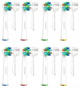 Brossettes Têtes de Remplacement Brosses à Dent Electrique pour Braun Oral B FlossAction & Oralb Professional Care -8 Pack SoniWhite® de la marque Carolina Meyer ® image 0 produit