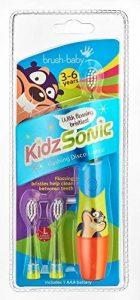 Brush-Baby Kidz Sonic Brosse à dents électrique pour enfant Bleu de la marque Brush baby image 0 produit