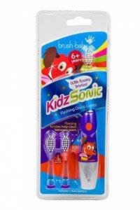 Brush-Baby Kidz Sonic Brosse à dents électrique pour enfant Violet de la marque Brush baby image 0 produit
