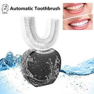 Bulary IPX7 Waterproof Brosse électrique automatique à fréquence variable 360 ° Brosse à dents en forme de U à ultrasons Dents froides Dispositif de blanchiment automatique de la marque Bulary image 0 produit
