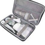 Co2CREA Housse de transport universelle pour voyage de famille / d'affaires Purpose pour Oral-B Rasoir de bain Braun Philips Brosse à dents électrique de la marque co2CREA image 2 produit