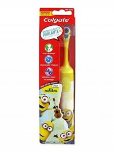 Colgate Brosse à Dents Électrique Minions - Modèle : Bob (Jaune) de la marque Colgate image 0 produit