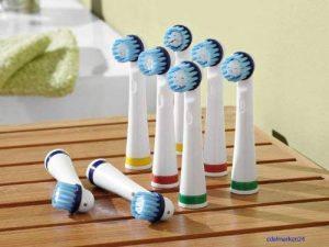 DENTALUX zahnbürstenköpfe set de 8 pièces pour iAN 45634 &iAN 46741) de la marque dentalux image 0 produit