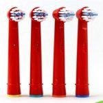 Dr Kao® 4 pack Têtes de brosse à dents électrique standard pour têtes de brosse à dents électrique pour enfants Têtes pour brosse à dents Oral B pour enfant eb-10 a de la marque Dr. Kao image 4 produit