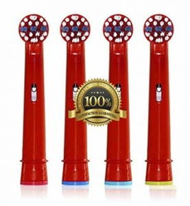 Dr Kao® 4 pack Têtes de brosse à dents électrique standard pour têtes de brosse à dents électrique pour enfants Têtes pour brosse à dents Oral B pour enfant eb-10 a de la marque Dr. Kao image 0 produit