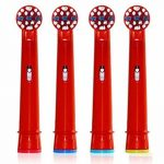 Dr. KAO® 8 pack Têtes de brosse à dents enfants Têtes de brosse à dents enfants Têtes de brosse à dents électrique pour enfant Standard pour Oral B Têtes de brosse à dents électrique pour enfants Lot de 4 Eb-10 a (8) Manufacturer: Dr Kao MFG de la marque image 3 produit