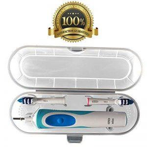Dr KAO clair Trousse de voyage pour brosse à dents électrique Oral B standard plastique Trousse de voyage pour Braun Oral-B et pour Philips de la marque Dr. Kao image 0 produit