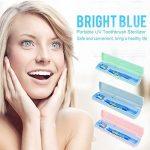 Désinfectant pour Brosse à Dents UV, Désinfectant de Brosse à Dents pour Voyage, Support de Désinfectant pour Brosse à Dents électrique(vert) de la marque Brrnoo image 1 produit