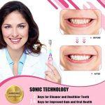 ENFANTS Brosse à dents électrique, brosse à dents rechargeable pour enfants avec la technologie sonique Ensembles de minuteur pour junior garçons et filles de la marque Seago image 1 produit