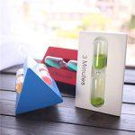 Fancyus 3/5/7 minutes en bois Triangle Kids Toothbrush sable minuterie, bleu de la marque Fancyus image 3 produit