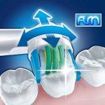 FLM 3D White/PRO Bright EB18-4 - Têtes de Remplacement pour Brosses à Dents Electriques Compatible Avec Braun Oral B, Pack de 16 Brossettes de la marque fuluomei image 2 produit