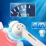 FLM Sonicare Sensiflex HX2012 - Têtes de Remplacement pour Brosses à Dents Electriques Compatible Avec Philips Modèles: Tous Les Modèles Sonicare Sensiflex.- Pack de 12 Brossettes de la marque fuluomei image 1 produit