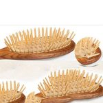 GUO Bois cuir chevelu airbag massage peigne soins capillaires anti-statique dents en bambou rond peigne de la marque QIANQIAN image 4 produit
