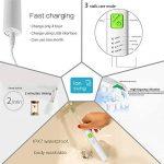 HANER Brosse à Dents électrique USB Rechargeable sonique Brosse à Dents Automatique Adulte ménage Cheveux Doux blanchiment des Dents ( Color : Full Green ) de la marque HANER image 4 produit