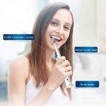HANER Brosse à Dents électrique USB Rechargeable sonique Brosse à Dents Automatique Adulte ménage Cheveux Doux blanchiment des Dents ( Color : Green ) de la marque HANER image 1 produit