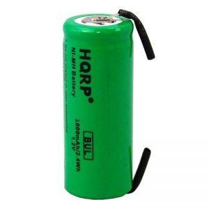 HQRP 42mm 1,2V 2000mAh Batterie pour Braun Oral-B 3738, 3745, 3761, 3762, 4736, 5000 brosse à dents de la marque HQRP image 0 produit