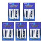 im77r 20 recharges brosse électrique pour Braun Oral-B, compatible avec Oral-B/Braun Vitaly Precision Clean, White Clean, Sensitive Clean, Oral-B Professional Care, modèle eb-17a / SB-17A (5kits x 4pcs) … de la marque IM77R image 1 produit
