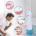 Irrigateur Dentaire, HONZIN Hydropulseur Electrique Portable Irrigateur Oral, IPX7 Etanche 3 Modes Avec 2 Buses Jet Dentaire, Pour Soins Dentaires de la marque HONZIN image 2 produit